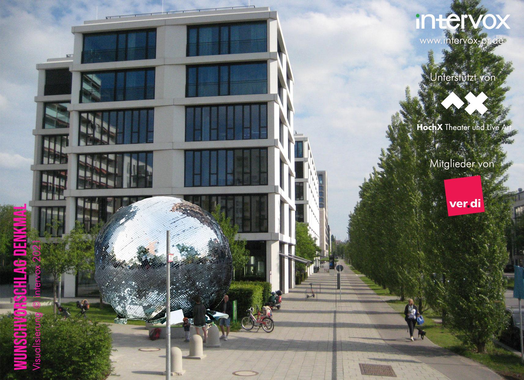 Wunschvorschlag Denkmal, Visualisierung (c) intervox 2021